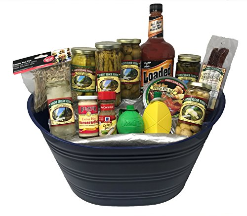 Bloody Mary Gift Set | Asparagus | Olives | Pickles | Rim Salt | Horseradish | Add Some Spice To Your Life