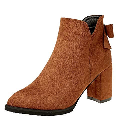 Shukun Shukun Shukun Stiefeletten Stiefelies Schuhe Frauen Wilden Casual Peeling High Heels Martin Mode Schuhe Herbst und Winter Stiefel 722dba