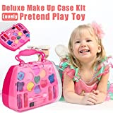 Orcbee  _Princess Girls Pretend Play Toy Deluxe Makeup Palette Set Non Toxic for Kids