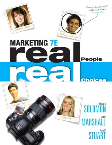 Marketing: Real People, Real Choices, Student Value Edition Plus NEW MyMarketingLab with Pearson eText -- Access Card Pa