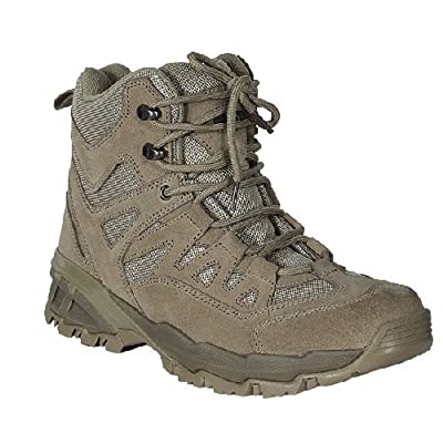 "VooDoo Tactical 04-9680083320 6"" Low Cut Boots, Desert Tan, 9.5W"