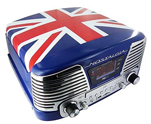 BigBen TD79 II - Tocadiscos, diseño Union Jack: Amazon.es: Electrónica
