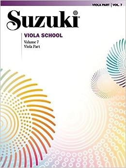 Suzuki Viola School, Vol 7: Viola Part