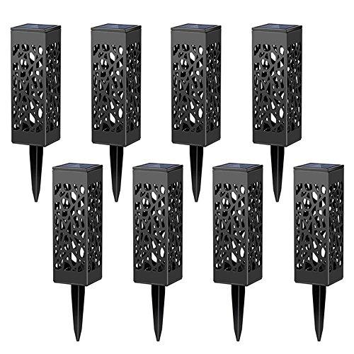 8 Led JardinAutomatique De Solaires Lot Lampes À Pour dorxBeWC