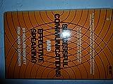Successful Communications and Effective Speaking, Millard Bennett and John D. Corrigan, 0138604371