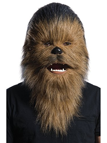 Rubie's Costume Unisex-Adult's Chewbacca Mask, as Shown, Standard -
