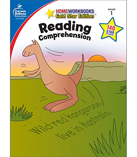Reading Comprehension, Grade 1 (Home Workbooks) (Main Idea And Details Worksheets 3rd Grade)