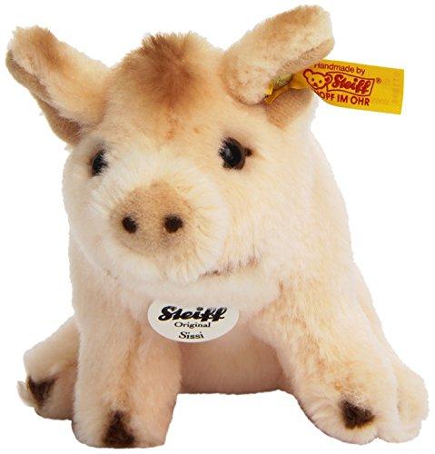 Steiff Sissi Sitting Piglet (Pig Mohair)
