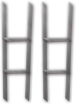 Amazon.com: Poste de alambre en H para poner en jardí ...
