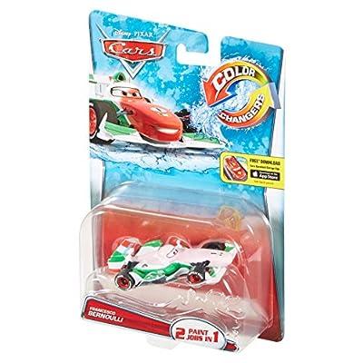 Disney Pixar Cars Color Changers Francesco Bernoulli Vehicle: Toys & Games