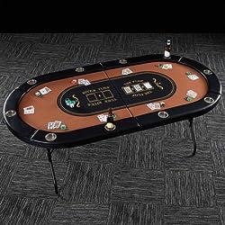 Barrington 10 Player Poker Table 82 x 44