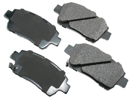 Akebono ACT822 ProACT Ultra-Premium Ceramic Brake Pad Set