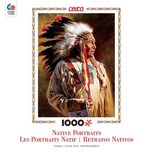 Ceaco Native Portraits - Profile of A Chief Puzzle (1000