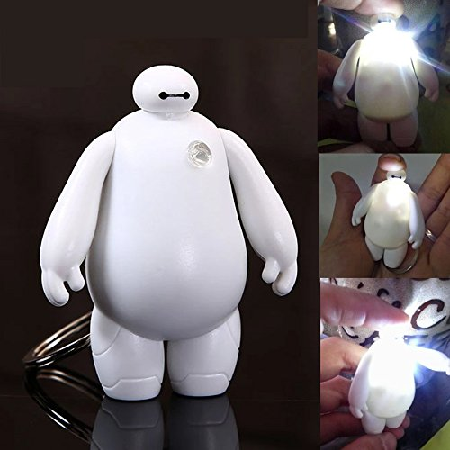 5SLED® 3Pcs Cute Cartoon Big Hero 6 Baymax 5.5cm/2.2