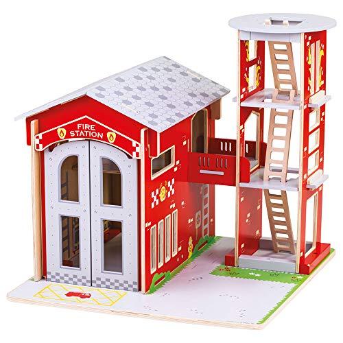 Bigjigs Toys City Fire Station