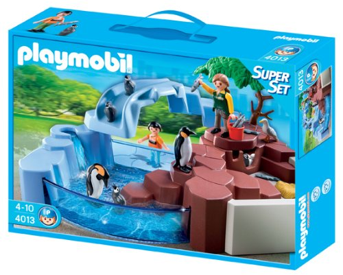 Playmobil zoo superset piscina ping inos for Playmobil piscina con tobogan