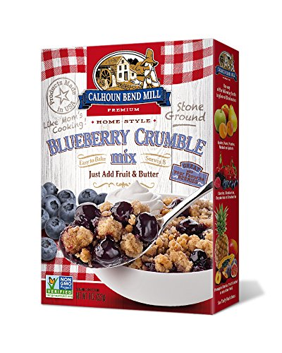 Calhoun Bend Mill Blueberry Crumble Mix 8 Ounces (Case of ()