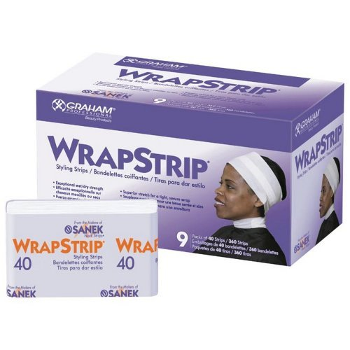 Graham Wrapstrip Styling Strips - Box by Graham Professional by GRAHAM BEAUTY