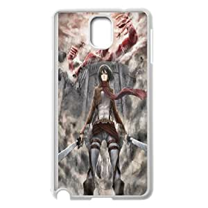Diy Phone Cover Attack on Titan for Samsung Galaxy Note 3 N7200 WEQ959488