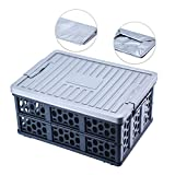Plastic folding storage boxes with waterproof bag and insulated bag Multi-functional storage portable, suitable for daily household storage, family gatherings & cars, trucks, indoor &outdoors Suitable