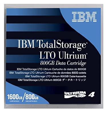 (5) New IBM LTO 4 Ultrium Tapes 800GB/ 1.6TB IBM LTO-4 95P4436 by IBM