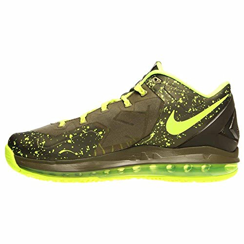 Nike Air Max Lebron Xi 11 Scarpe Da Basket Basse Da Uomo Nuove Dunkman-mdm Khaki / Mdm Khk-vlt-mdm Oliva