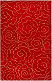 Safavieh Soho Collection SOH812A Handmade Red Premium Wool Area Rug (7'6″ x 9'6″) Review