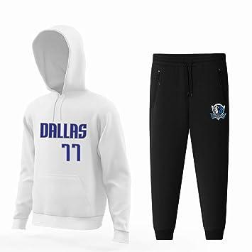 Dallas Mavericks T-shirt Doncic #77 Camiseta con capucha para ...