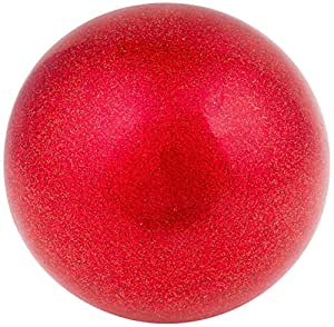 AMAYA SPORT Pelota Gimnasia Ritmica TECNOCAUCHO Glitter Rojo ...