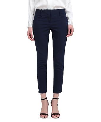 d94916c4 YTUIEKY Capri Pants Women's Outfit - Slim Hip Lifting Elastic Capri Pants  for Women Casual Wear