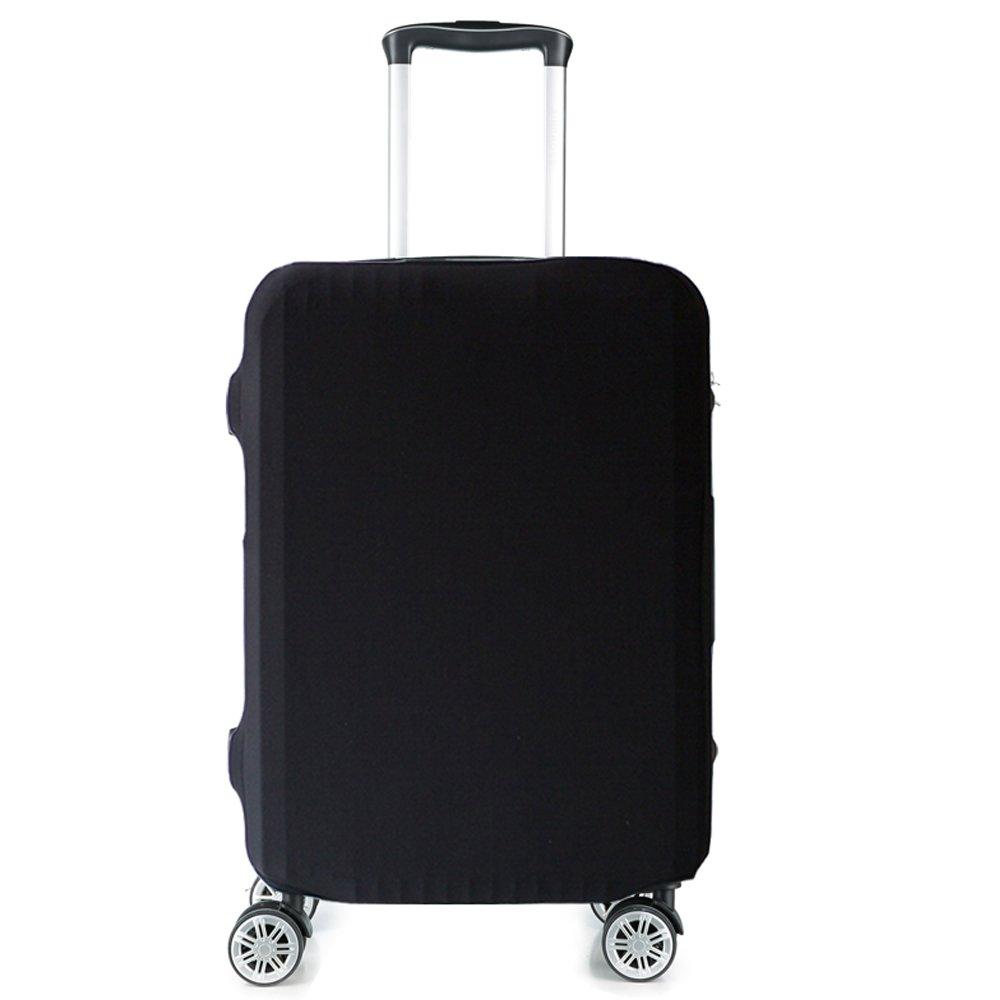 HoJax Spandex Luggage Covers Protector Fits 26-28 Inch Luggage Black