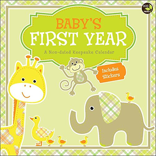 Top Baby's First Year Non-Dated Wall Calendar hot sale