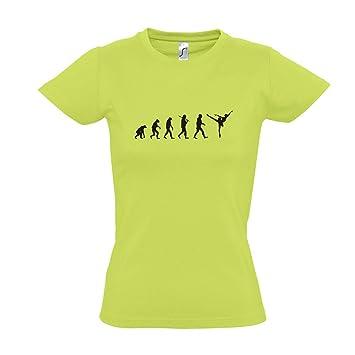 Damen T-Shirt - EVOLUTION - Ballett Sport FUN KULT SHIRT S-XXL ,
