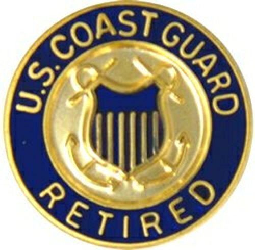 US Coast Guard Retired Lapel Pin or Hat Pin ()