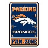 Fremont Die NFL Denver Broncos Plastic Parking Sign