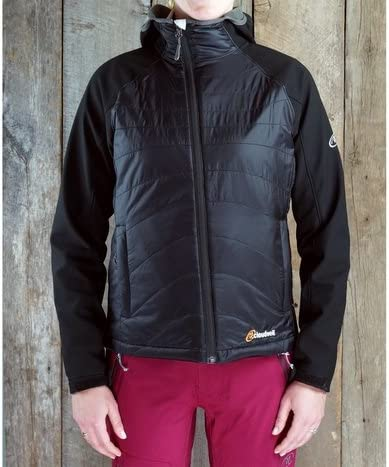 Cloudveil Igneous hybrid Jacket womens Medium M primaloft black 124031W