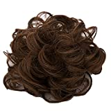 Surker Ladies Wavy Curly Hairpiece Chignon Tray