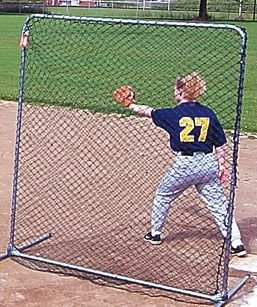 Jugs Sports Replacement Net for 6-foot Quick-Snap Square Sports Screen - NET - Jugs Quicksnap