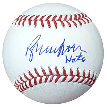 74105f07387 Bruce Sutter Signed Official MLB Baseball St. Louis Cardinals HOF 06 -  PSA DNA