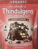 Sheila G's Organic Thindulgent Dark Chocolate Almond Bark-Cherry Almond 16 oz