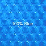 20 ft x 40 ft Rectangular Solar Cover-Blue Blue 12ML
