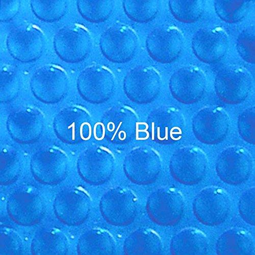 (12 ft x 24 ft Rectangular Solar Cover-Blue Blue 12ML)