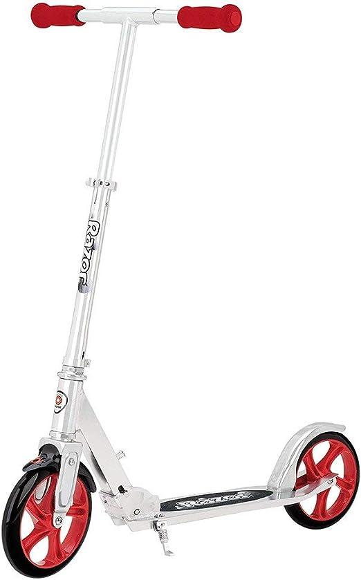 Razor A5 Lux - Patineta para niños, color plata, Large: Amazon.es ...