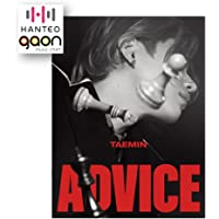 Taemin - [Advice] (The 3rd Mini Album) [Pre Order] CD+Photobook+Folded Poster+Others with Tracking, Extra Decorative…
