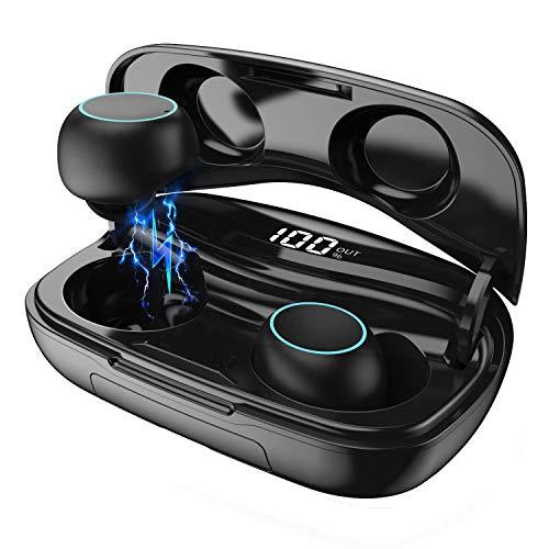 Wireless Earphones, HETP Bluetooth 5.0 Wireless Headphones Earbuds 50H Playtime...