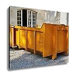 Ashley Canvas, Dump Demolition Material, Wall Art Home Decor, Ready to Hang, 16x20, AG5864236