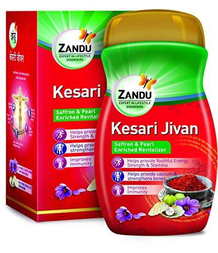 Zandu Kesari Jivan – Ayurvedic Immunity Booster for Adults and Elders, Builds Energy, Strength & Stamina, Strengthens…