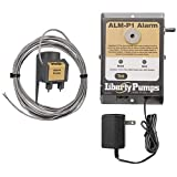 Liberty Pumps ALM-P1-EYE NightEye Wireless Enabled 115V Indoor Compact Snap-On Float Alarm with 10' Cord