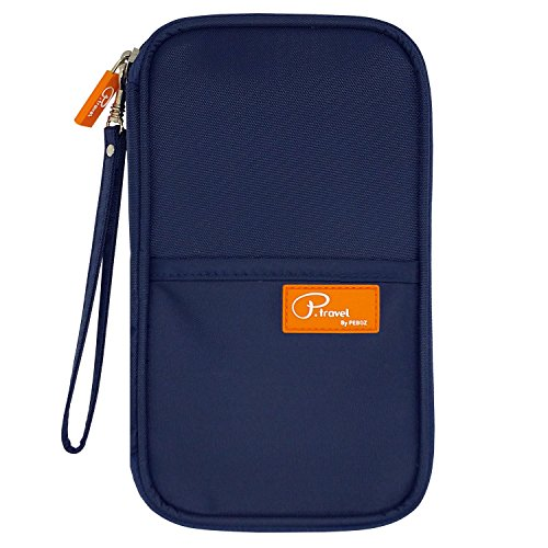 P.travel Passport wallet Oxford Navy with RFID Stop by P.travel (Image #1)