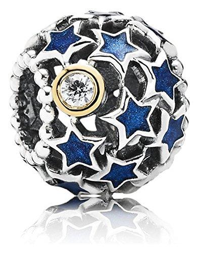 Pandora Damen-Charm 925 Silber Zirkonia transparent - 791371CZ
